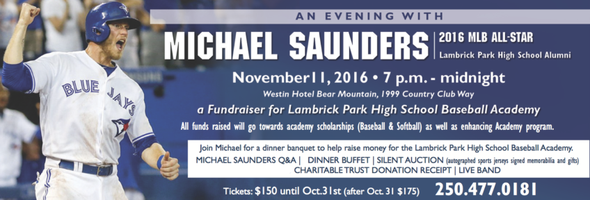 An Evening With Michael Saunders