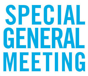 Special General Meeting – June 13