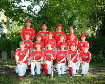 Great Season for GVBA's 11U A Summer Team