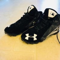 Under Armour Molded Cleats Size 7